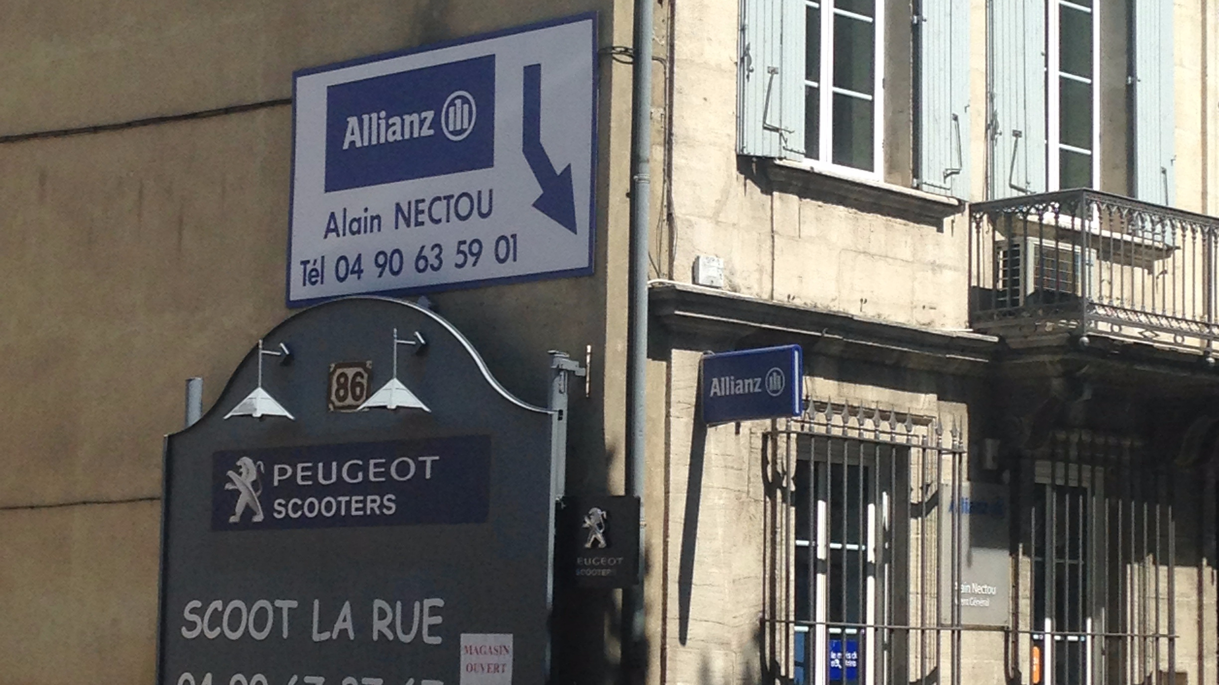 Allianz Carpentras jaures - Alain NECTOU