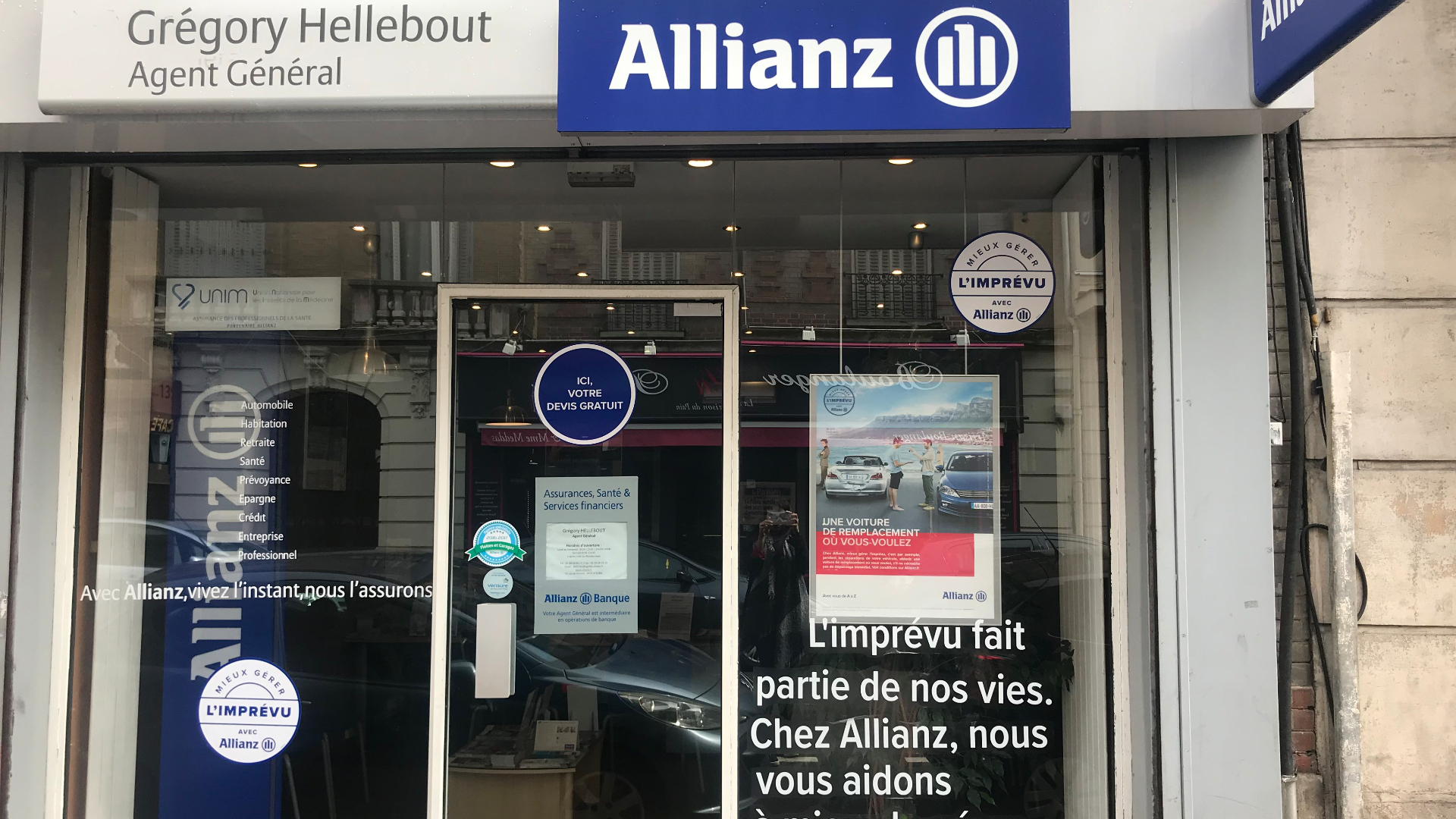Allianz AULNAY SOUS BOIS - Gregory HELLEBOUT