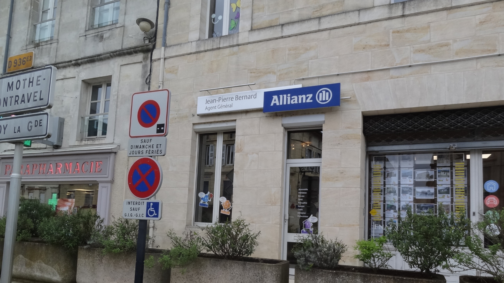 Allianz CASTILLON - Jean-pierre BERNARD