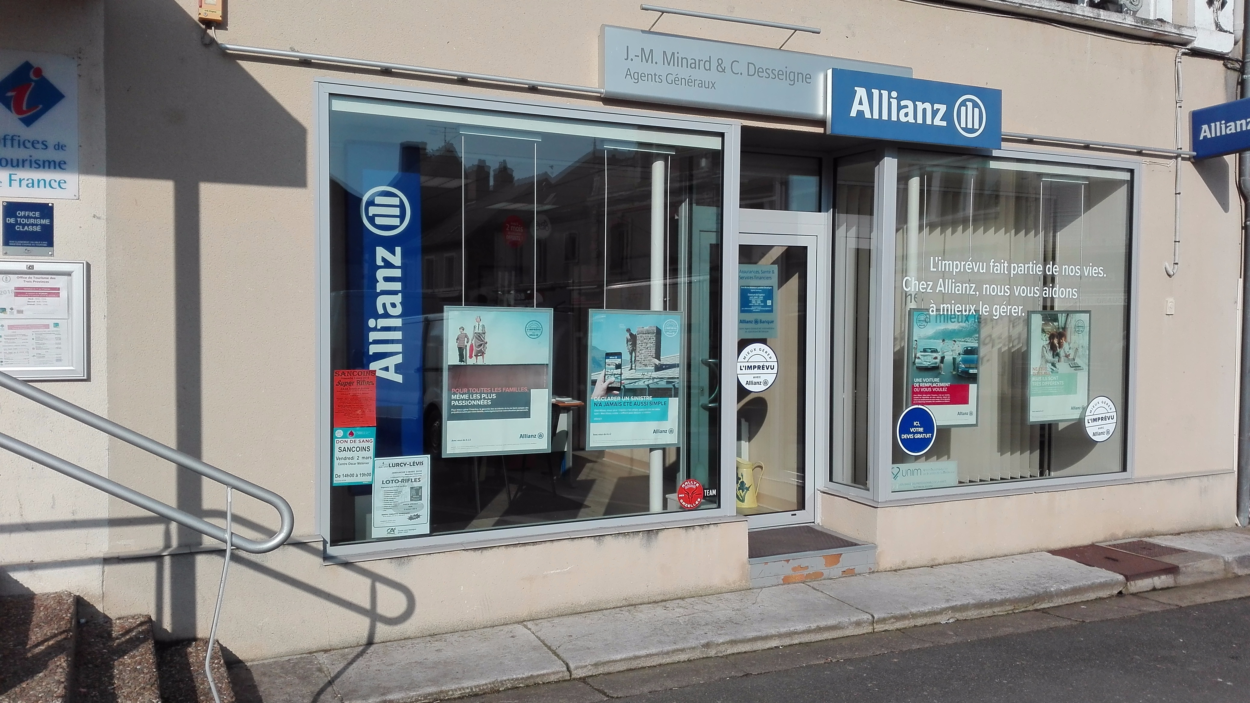 Allianz Sancoins - MINARD & DESSEIGNE