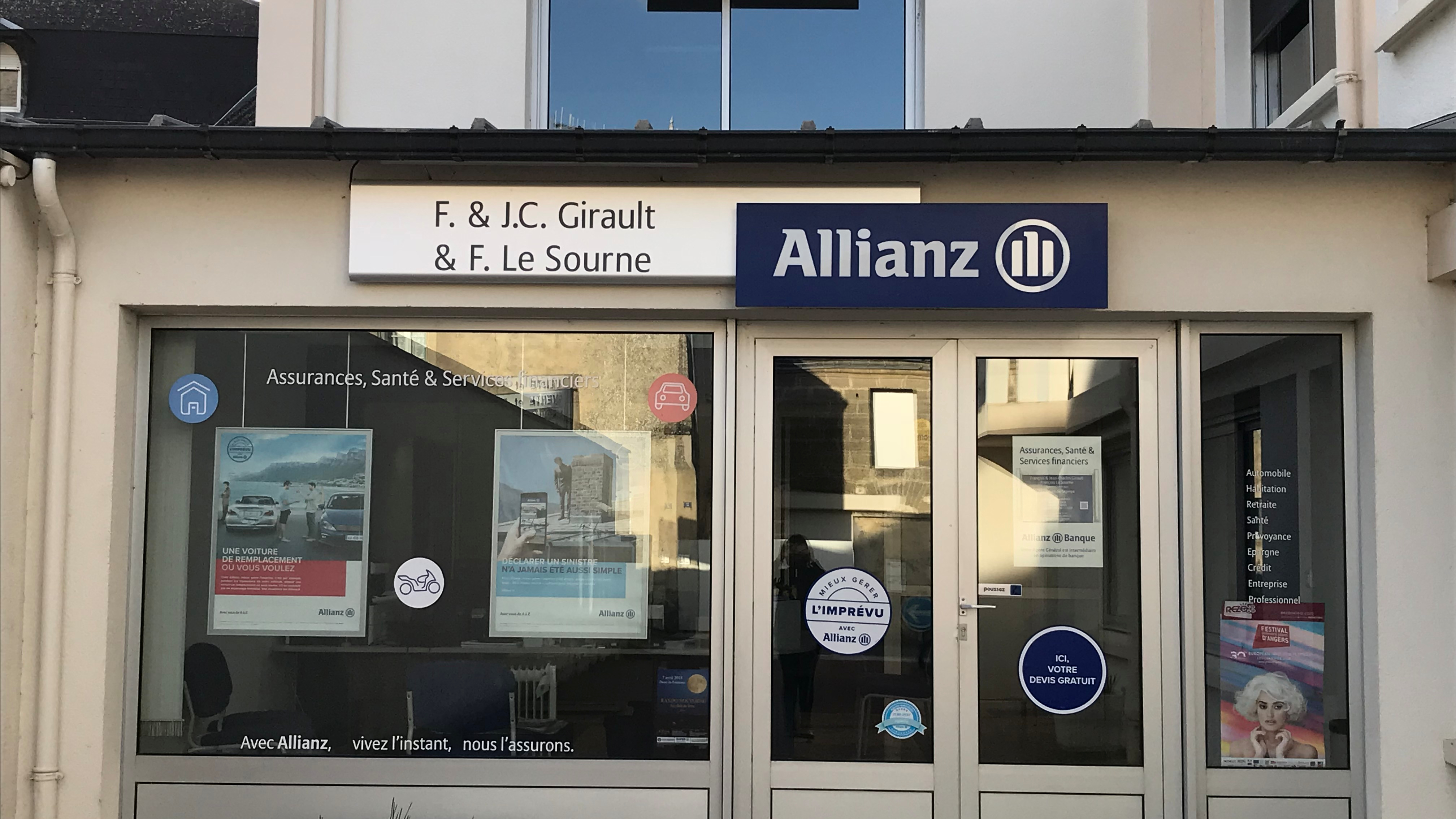 Allianz Doue la fontaine - GIRAULT & GIRAULT & LE SOURNE