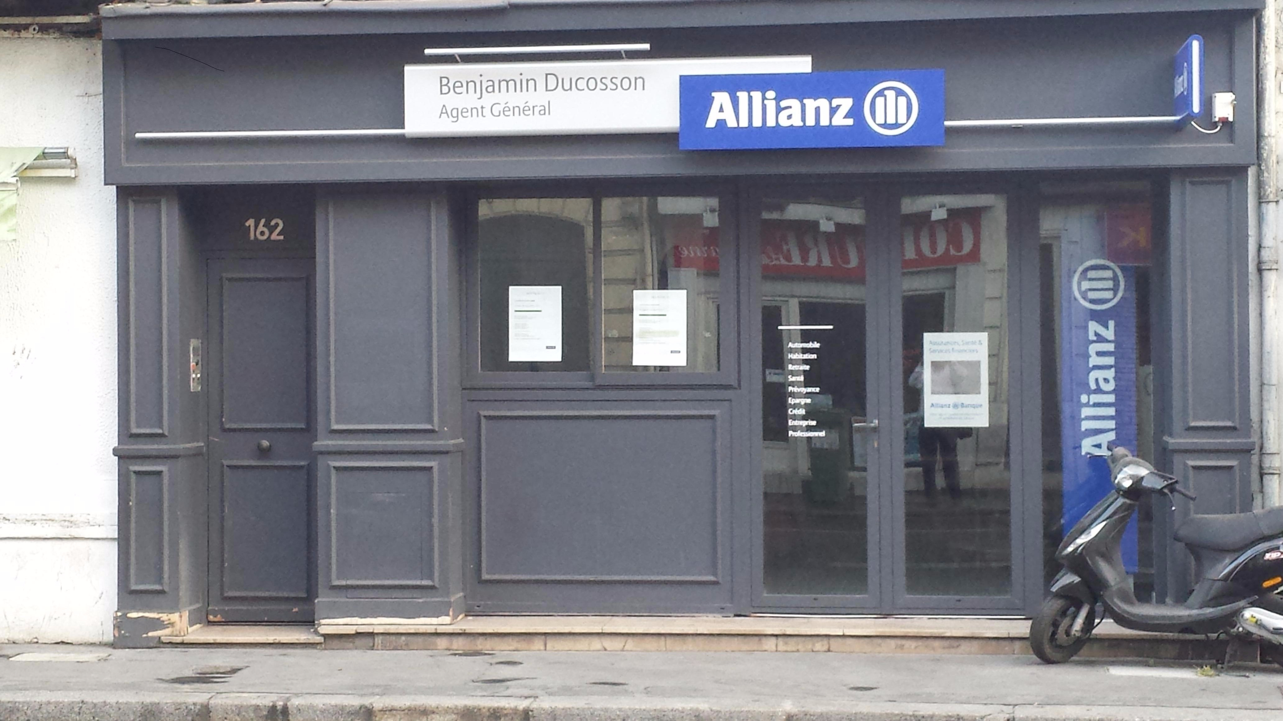 Allianz Bordeaux saint jean - Benjamin DUCOSSON