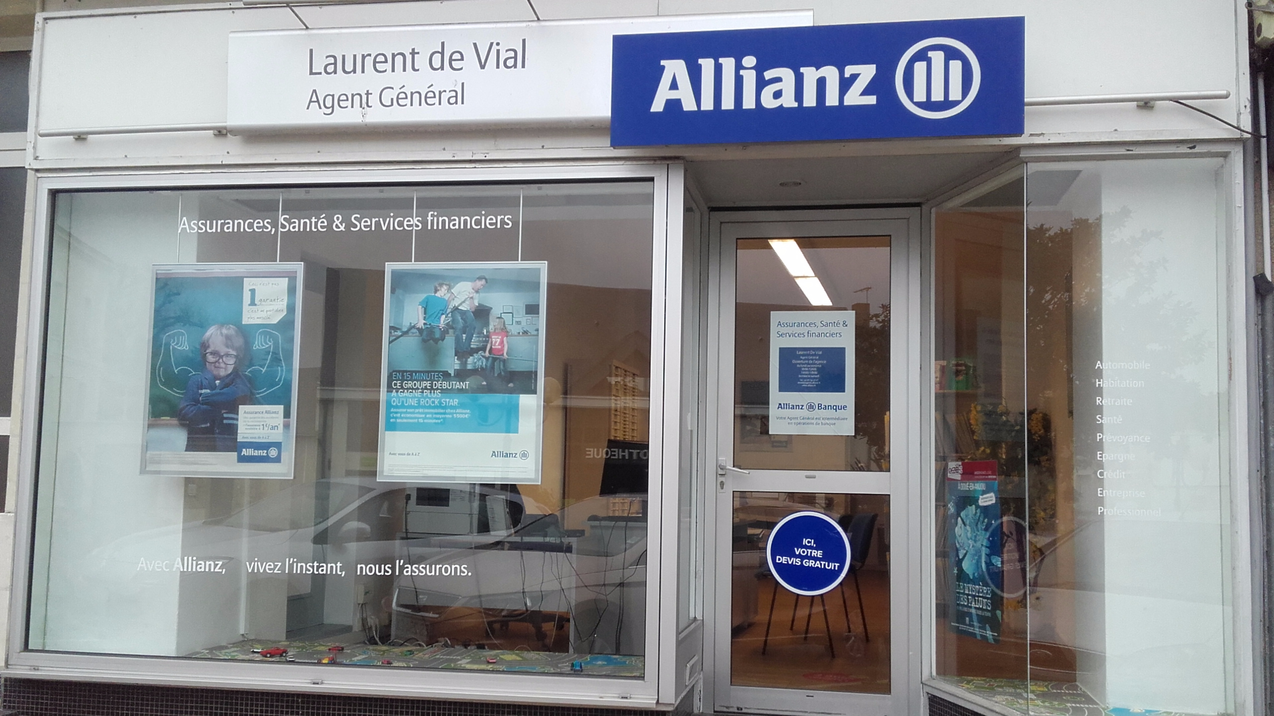 Allianz Doue la fontaine vihiers - Laurent DE VIAL