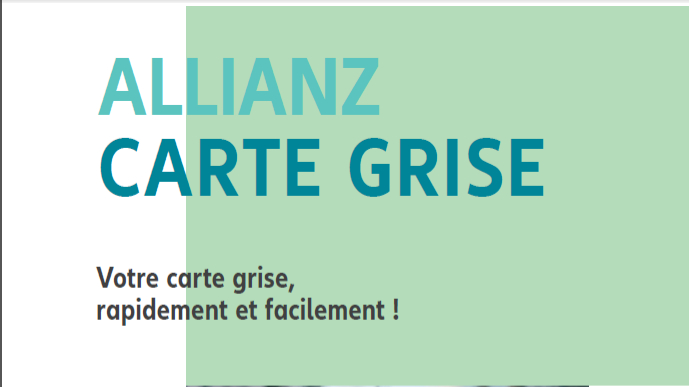 Allianz Carte Grise - SERVICE EN AGENCE de l'agence  Allianz Arbois - Allianz AGENCES