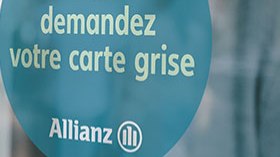 Carte grise Allianz de l'agence  Allianz Sedan la marck - Raphael GIRAUD